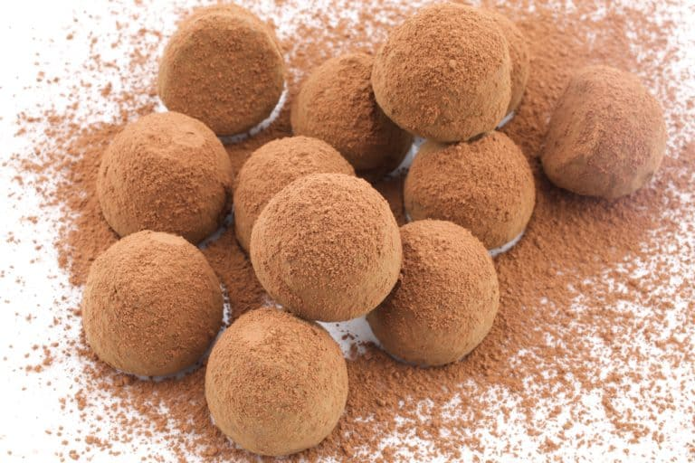 טראפלס שוקולד מריר טבעוני, ללא גלוטן וללא סוכר