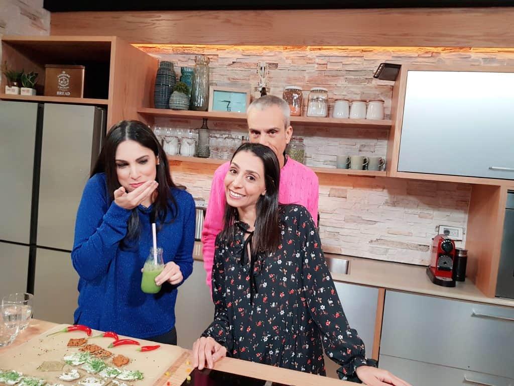 טלי מחלב עם אברי גלעד ומיה זיו וולף