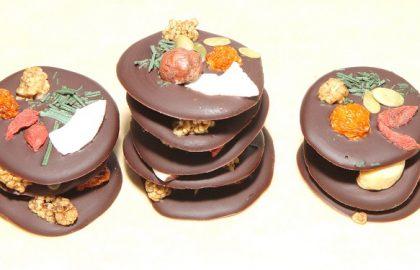 מדליוני שוקולד סופרפודס ופירות יבשים