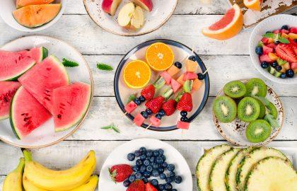 שיפודי פירות לכבוד יום המשפחה