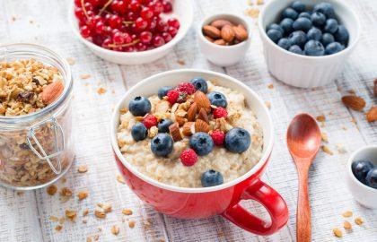 שתי ארוחות בוקר בריאות בשתי דקות