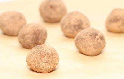 טראפלס שוקולד תפוז